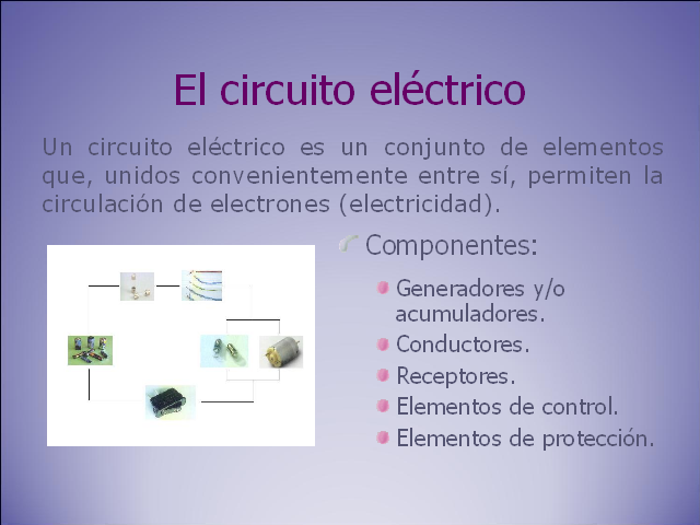 Circuito Electrico Simple Materiales : Circuitos en protoboard