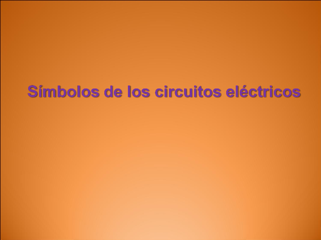 Circuito Electrico Simple Dibujo : El circuito eléctrico simple monografias